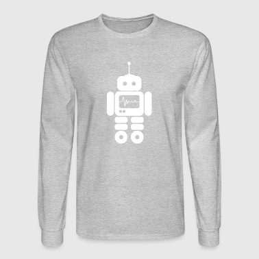 Paranoid Android Robot - Men's Long Sleeve T-Shirt