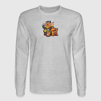 Flaming pigs - Men's Long Sleeve T-Shirt