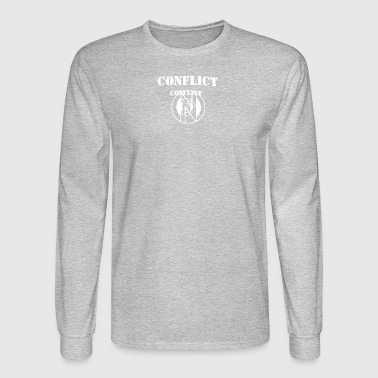Conflict - Men's Long Sleeve T-Shirt