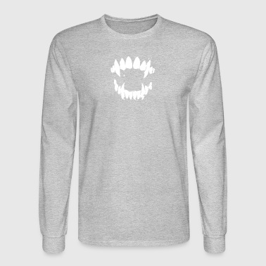 Jaws Halloween - Men's Long Sleeve T-Shirt