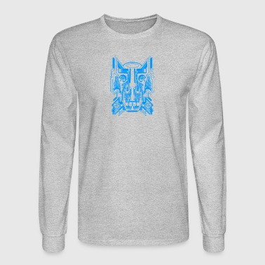 Circuit Wolf - Men's Long Sleeve T-Shirt