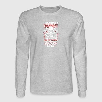 Shop Warning Long Sleeve Shirts Online Spreadshirt