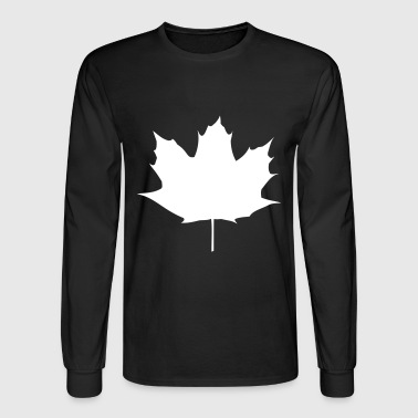Maple Leaf - Men's Long Sleeve T-Shirt