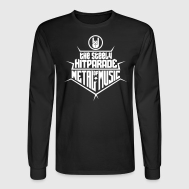 The steely Hitparade of Metal Music 1c - Men's Long Sleeve T-Shirt