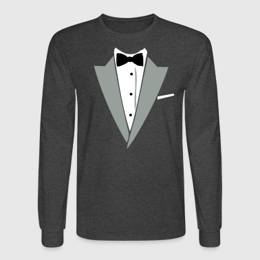 Hilarious Tuxedo Shirt - Men's Long Sleeve T-Shirt
