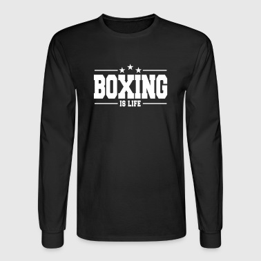 boxing is life 1 - Men's Long Sleeve T-Shirt