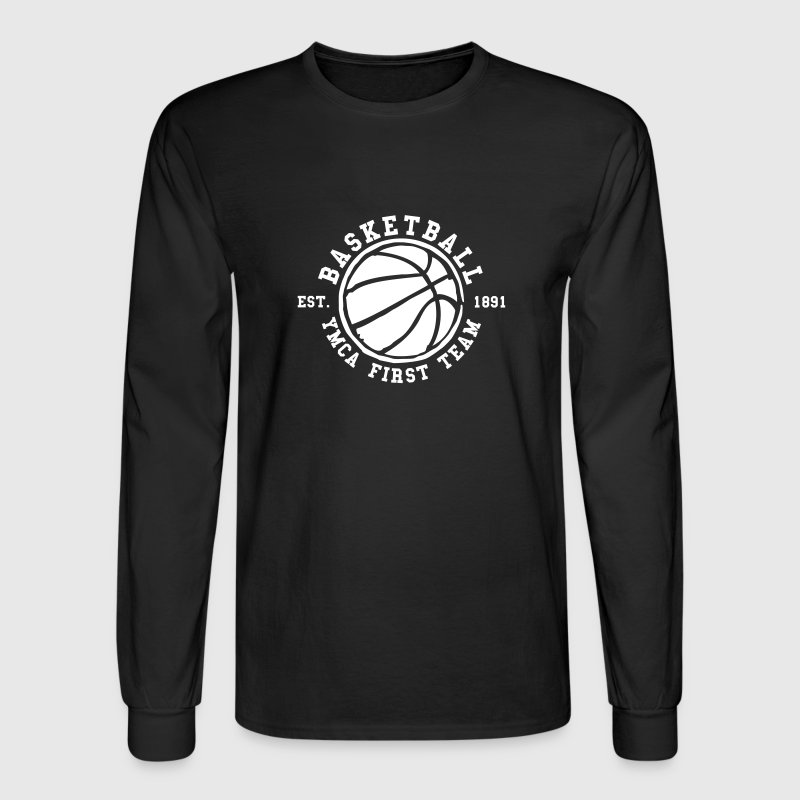 Basketball - I love this game - Men's Long Sleeve T-Shirt