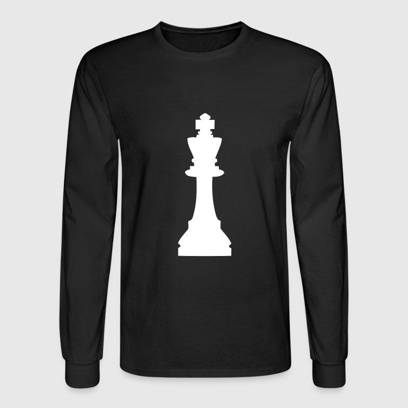 King, chess pieces King - Men's Long Sleeve T-Shirt