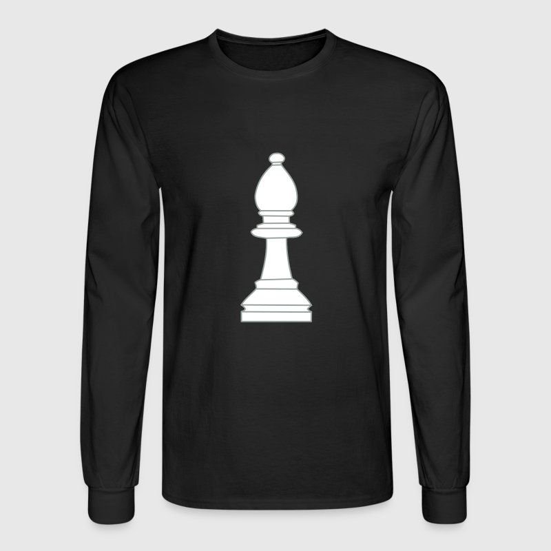 Bishop, chess pieces bishop - Men's Long Sleeve T-Shirt