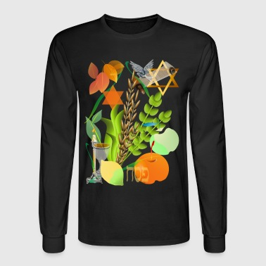 Seder_Passover Ceremony - Men's Long Sleeve T-Shirt