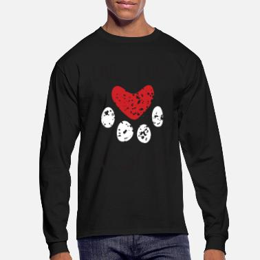 Rescue Dog Live Love Rescue - Men's Long Sleeve T-Shirt