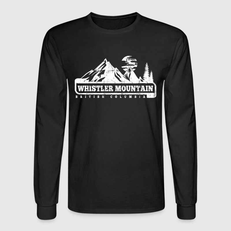 Whistler mountain by personalized spreadshirt for Mountain long sleeve t shirts