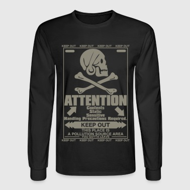 ATTENTION - Men's Long Sleeve T-Shirt