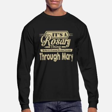 Rosary IT'S A ROSARY THING - Men's Long Sleeve T-Shirt