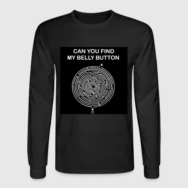 belly button - Men's Long Sleeve T-Shirt