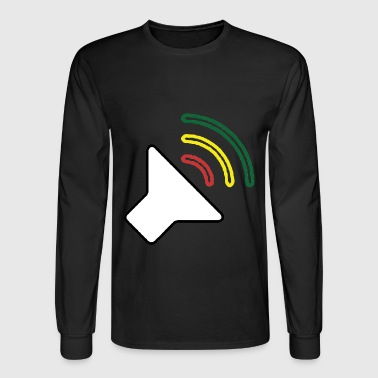 Reggae Loud - Men's Long Sleeve T-Shirt