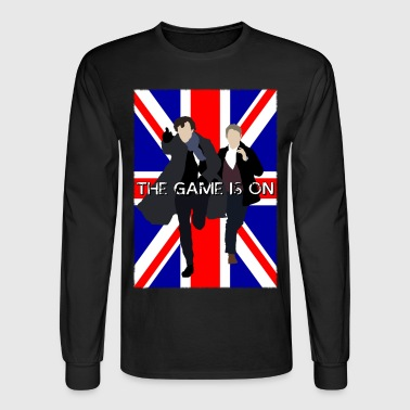 Sherlock - The Game is On - Men's Long Sleeve T-Shirt