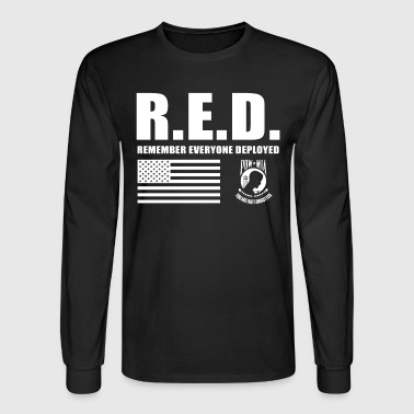 Wear Red Friday Wear Red On Friday - Men's Long Sleeve T-Shirt