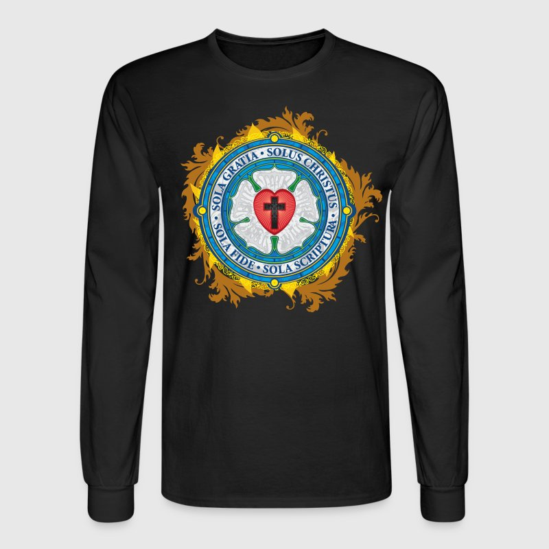 Luther Rose Color - Men's Long Sleeve T-Shirt