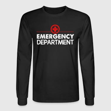 Emergency Department Tee - Men's Long Sleeve T-Shirt