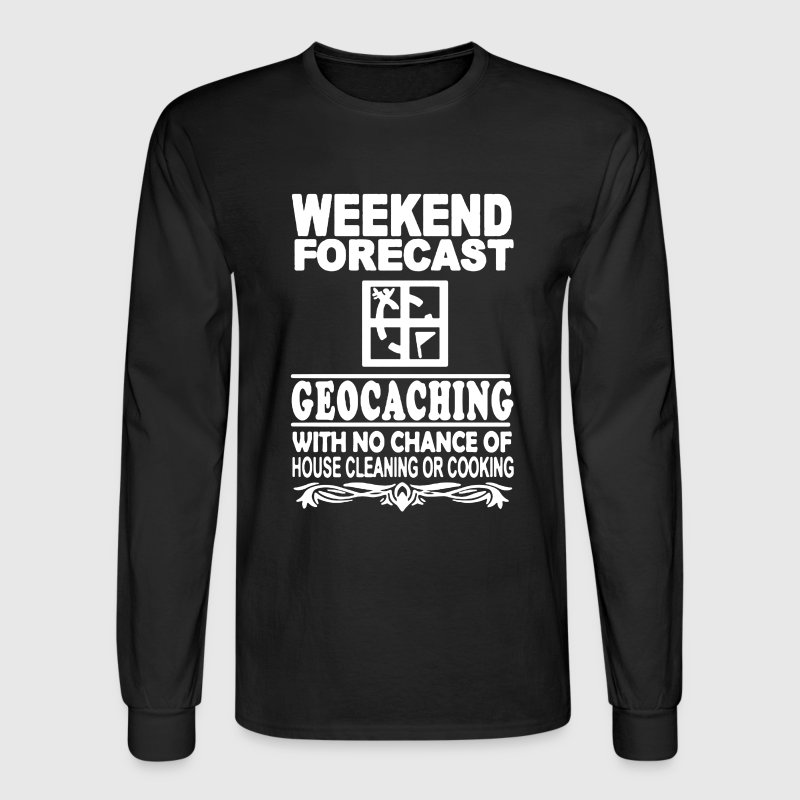 Forecast Geocaching - Men's Long Sleeve T-Shirt