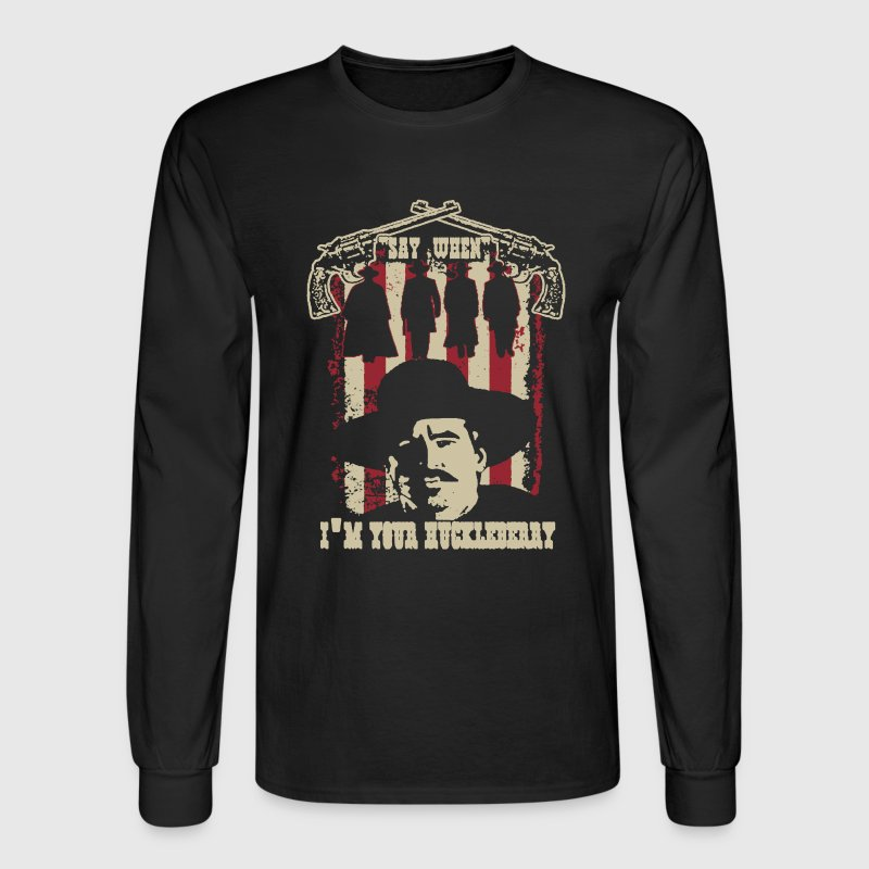 Huckleberry shirt - Men's Long Sleeve T-Shirt