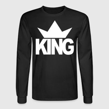Crown KING CROWN - Men's Long Sleeve T-Shirt