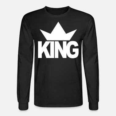 King KING CROWN - Men's Long Sleeve T-Shirt