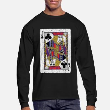 Jack jack of clubs playing card - Men's Long Sleeve T-Shirt