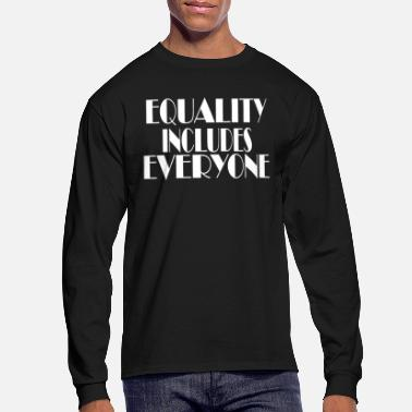 Equalizer Equality - Men's Long Sleeve T-Shirt