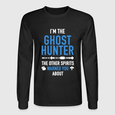 Ghost Hunter Shirt - Men's Long Sleeve T-Shirt