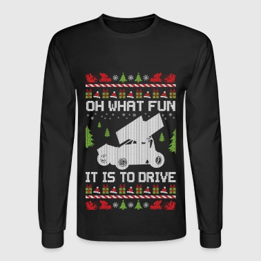 Sprint Car Christmas - Men's Long Sleeve T-Shirt
