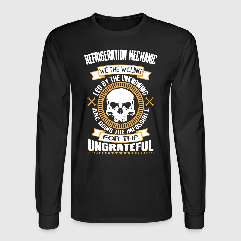 Refrigeration Mechanic - Men's Long Sleeve T-Shirt