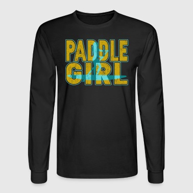 Paddle Board T Shirt - Men's Long Sleeve T-Shirt