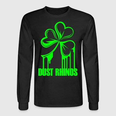 dustrhinospaintshamrock - Men's Long Sleeve T-Shirt