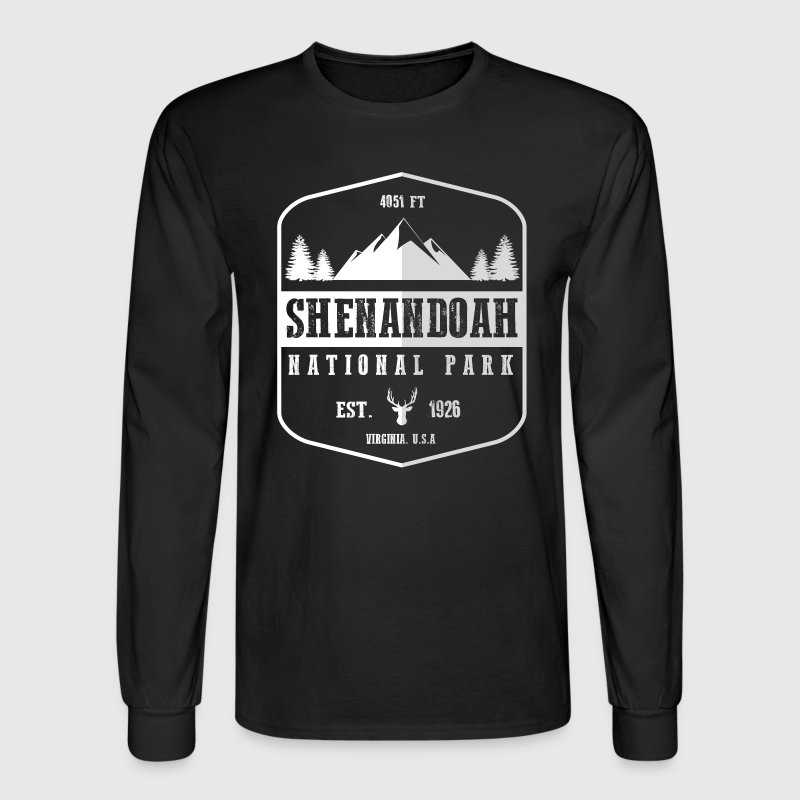 Shenandoah National Park - Men's Long Sleeve T-Shirt