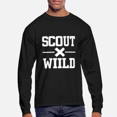 Bee Wild scout boyscout - Men's Long Sleeve T-Shirt