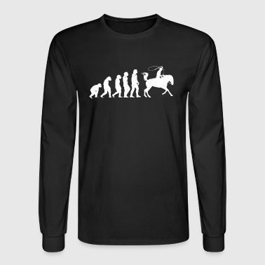 Rope Roping. - Men's Long Sleeve T-Shirt