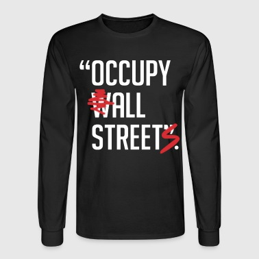 Occupy - Men's Long Sleeve T-Shirt