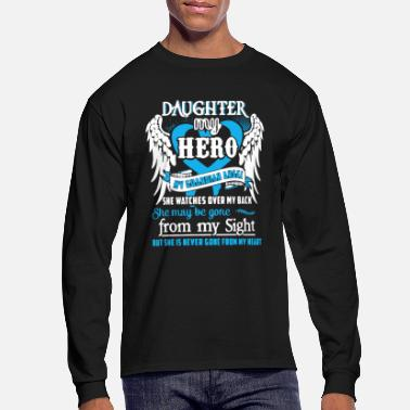 Army Daughter My Daughter Shirt - Men's Longsleeve Shirt