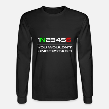 Gear Motorcycle Gears Biker Bike Gift Idea - Men's Long Sleeve T-Shirt