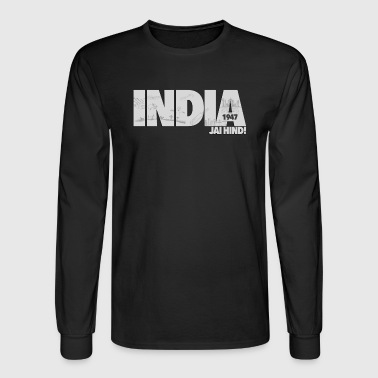 India 1947 Jai Hind! - Men's Long Sleeve T-Shirt