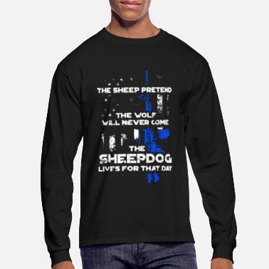 Sheepdog Police Sheepdog Shirt - Men's Longsleeve Shirt