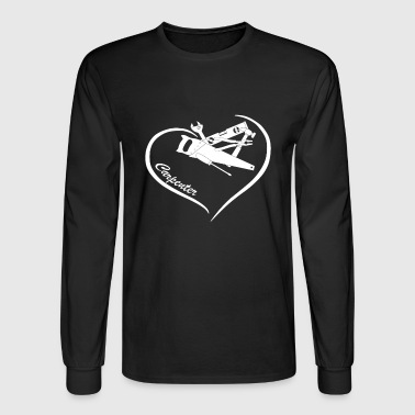 Carpenter Heart Shirt - Men's Long Sleeve T-Shirt