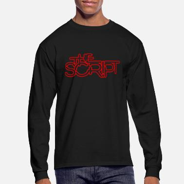 Script The Script - Men's Long Sleeve T-Shirt
