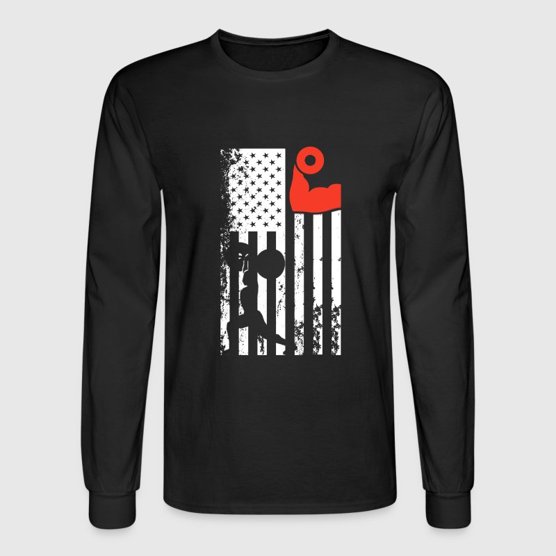 Athletic Trainer Flag Tee - Men's Long Sleeve T-Shirt