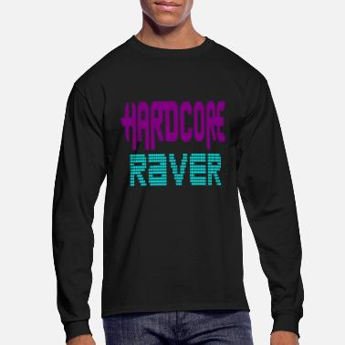Happy Hardcore hardcore raver - Men's Long Sleeve T-Shirt