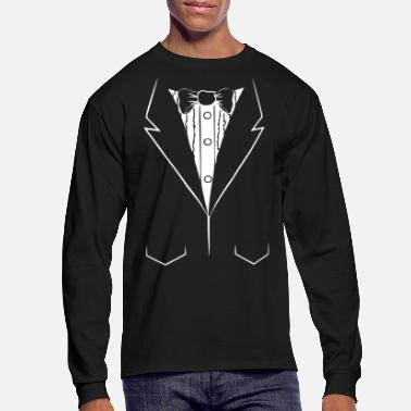 Suit psy suite - Men's Long Sleeve T-Shirt