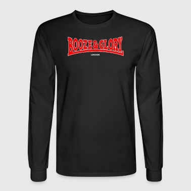 Booze and Glory - Men's Long Sleeve T-Shirt