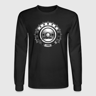 1968 Detroit Speedometer - Men's Long Sleeve T-Shirt